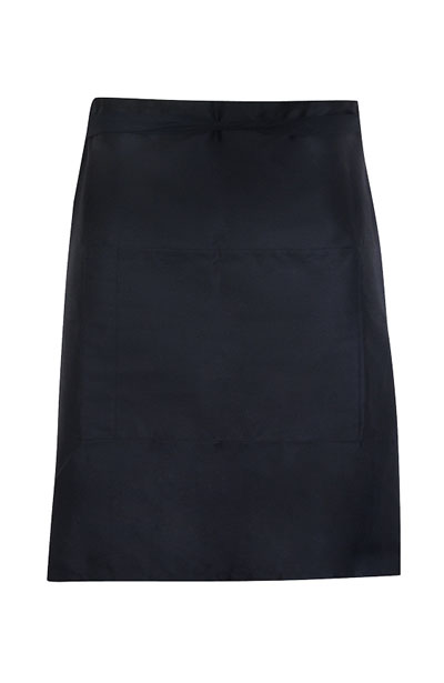 AP501S Short Waist Apron - 190gsm Poly/Cotton