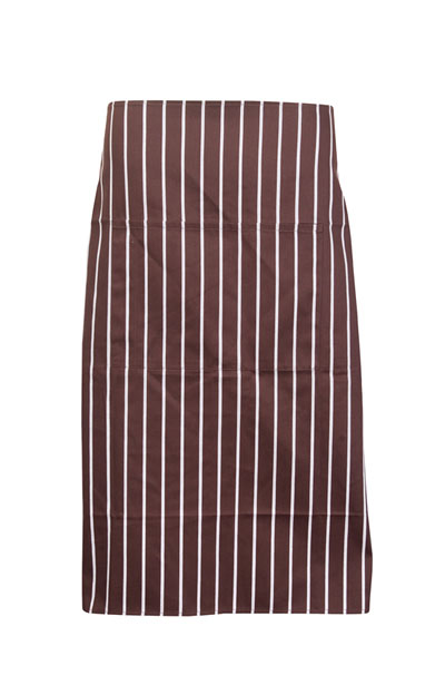 AP602L Striped Apron - Full Waist
