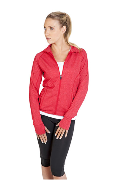 F390LD Ladies Greatness Heather Jacket