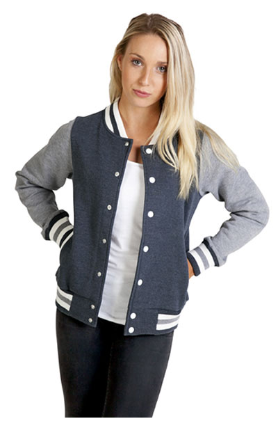 FO96UN Ladies/Junior Varcity Jacket