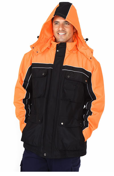 J007HZ Nylon Coated Jacket