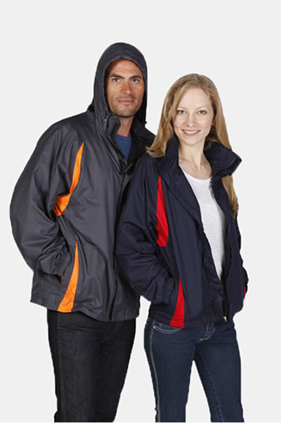 J008UN Ladies/Junior Shower Proof Sportech Nylon Jacket