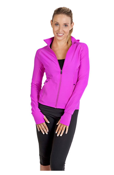 J480LD Ladies AVA Nylon/Spandex Jacket