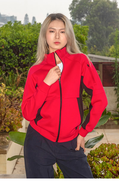 J487LD Ladies' Icon Jacket - 420 gsm - clone