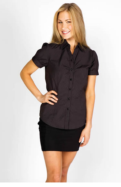 S008FS Ladies Urban Stripe Shirt