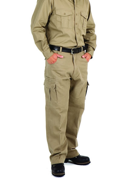 S502PA Cotton Drill Cargo Pants