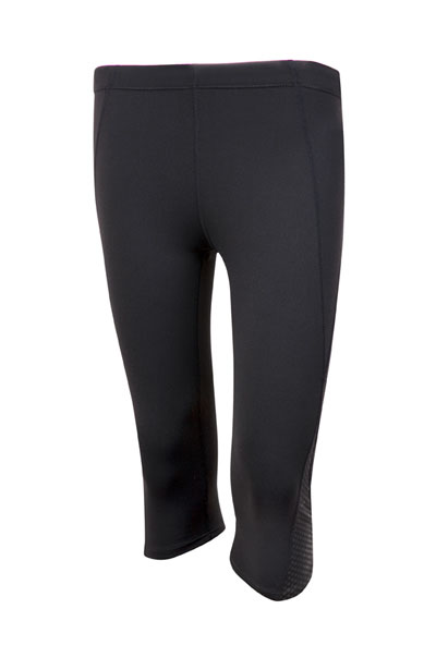 S858LD Ladies AVA Nylon Spandex 3/4 Leggings