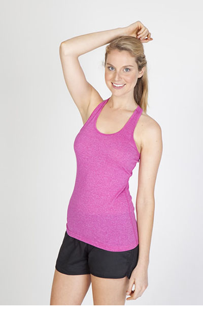 T409LD Ladies Greatness Athletic T-Back Singlet