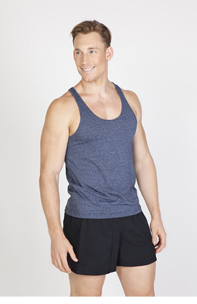 T409SG Men's Greatness Athlectic T-Back Singlet