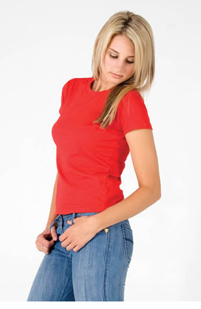 T626LD Ladies Slim Fit Tee