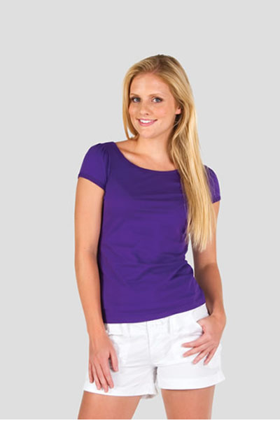 T701LD Ladies Puff Sleeve Tee